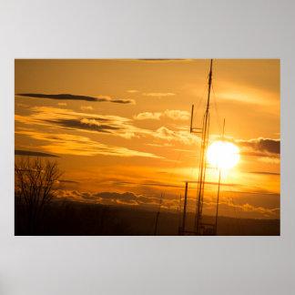 Die Himmel über 6 x 24 archivalischem Poster