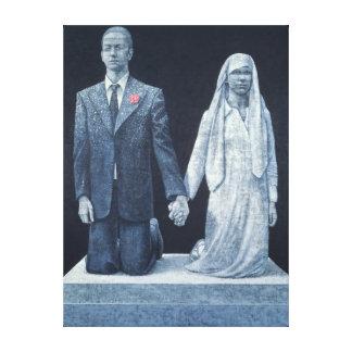 Die Hochzeit Leinwanddruck