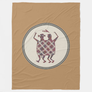 Die Hochzeits-Decke, Mimbres Tonwaren-Entwurf Fleecedecke