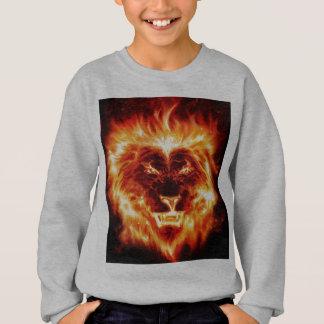 Die Höhlen-Plattenen-Kindersweatshirt des Löwes Sweatshirt