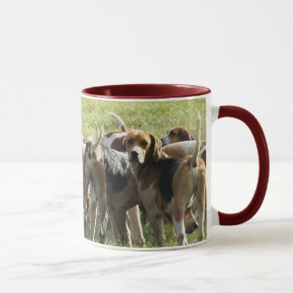 die Jagdhund-Tasse Tasse