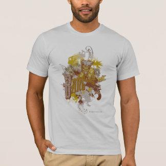Die Joker-Gewehr-/Knall-Karnevals-Collage T-Shirt