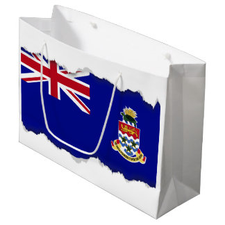 Die Kaimaninseln-Flagge Große Geschenktüte