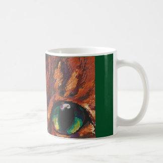 Die Katzenaugen Kaffeetasse