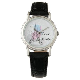 Die klassische Uhr/das Paris der Frauen Uhren