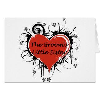 Die kleine Schwester des Bräutigams Karte