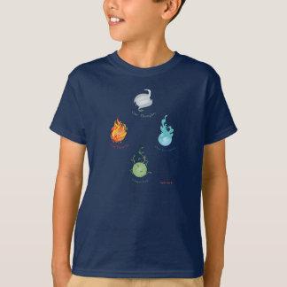 Die Klugheit vier Elemente, der T - Shirt der