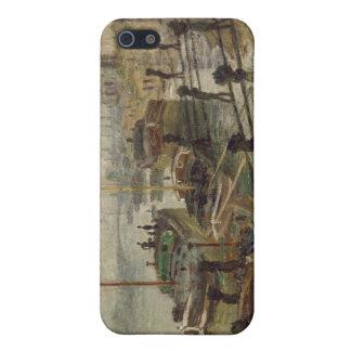 Die Kohle-Hafenarbeiter (1875) iPhone 5 Schutzhülle
