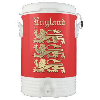 Die königlichen Arme von England Igloo Getränke Kühlhalter