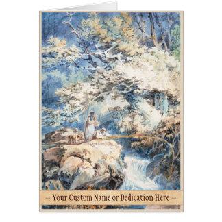 Die KUNST Angler-Josephs Mallord William Turner Mitteilungskarte