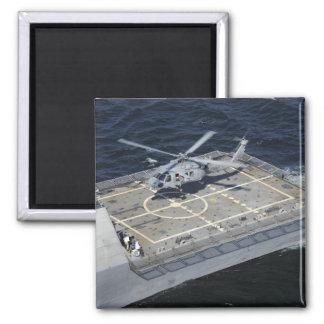 Die Küstenkampfschiff USS-Freiheit Quadratischer Magnet