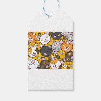 Die lachenden Katzen Geschenkanhänger
