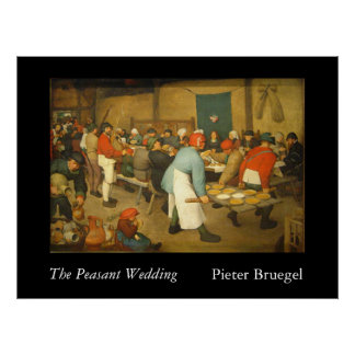 Die ländliche Hochzeit - 1568 Poster