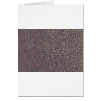 die lederne graue silberne diy grußkarte