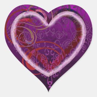 Die Liebe alles Vatis Herz Sticker