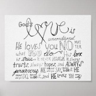 Die Liebe des Gottes Poster