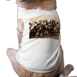 Die mächtigen Sioux Ärmelfreies Hunde-Shirt
