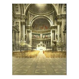 Die Madeleine, Innenraum, Paris, Frankreich Postkarten