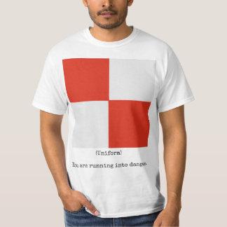 Die Marine kennzeichnet Shirt (Uniform), Mann