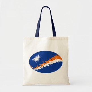Die Marshallinseln-Gnarly Flaggen-Tasche