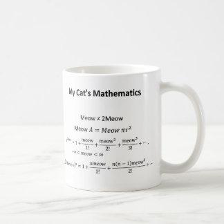 Die Mathematik-Tasse meiner Katze Tasse