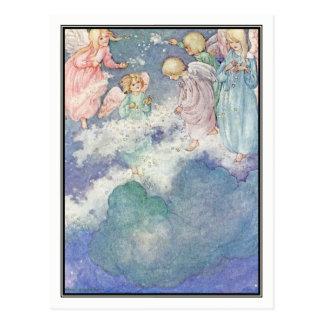 Die Milchstraße durch Anne Anderson Postkarte