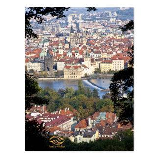 Die Moldau-Fluss Prag Postkarten
