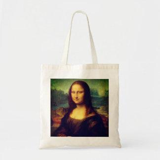 Die Mona Lisa durch Leonardo da Vinci Tragetasche