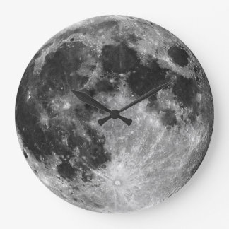 Die Mond-Wanduhr Große Wanduhr