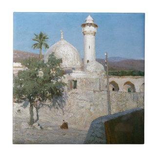 Die Moschee in Dschenin durch Vasily Polenov Fliese
