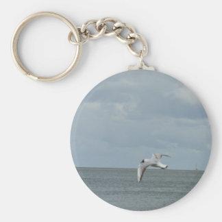 Die Möwe und das Meer Schlüsselanhänger