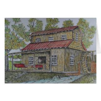 die Mühle Karte
