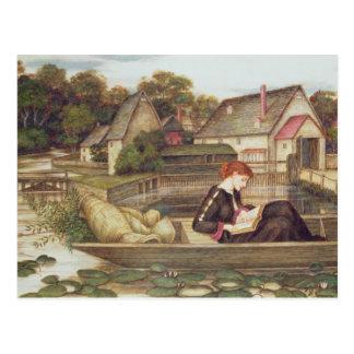 Die Mühle (w/c) Postkarte