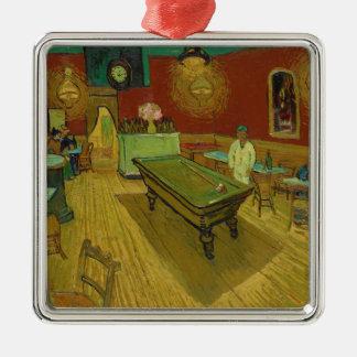 Die Nacht Café durch Vincent van Gogh (1888) Silbernes Ornament