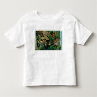 Die Neigung an Mt. LoweMt. Lowe, CA Kleinkinder T-shirt
