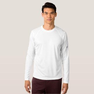 Die neue Balancen-langes Hülsen-Shirt der Männer T-Shirt