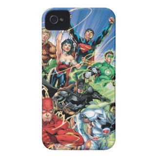 Die neuen 52 - Gerechtigkeits-Liga #1 iPhone 4 Case-Mate Hüllen