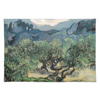 Die Olivenbäume, Vincent van Gogh Tischset