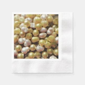 Die Perlen Papierservietten