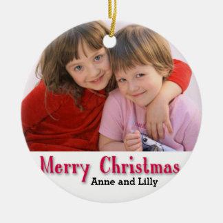 Die personalisierte Verzierung der Kinder Keramik Ornament