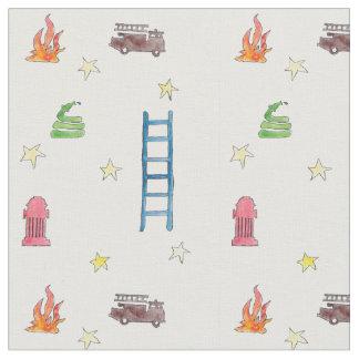 Die Pyjamas des Feuerwehrmannes! Stoff