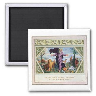 Die RAPHAEL-Bibel: Dreiunddreißig Szenen vom Ol Quadratischer Magnet