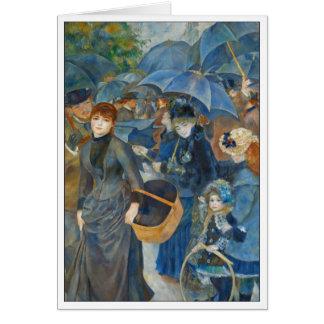 Die Regenschirme durch Renoir Karte