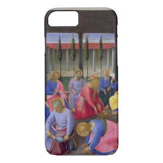 Die Reinigung der Füße, Detail von Platte drei O iPhone 8/7 Hülle