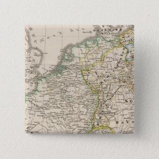 Die Republik und das Reich Quadratischer Button 5,1 Cm