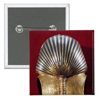Die Rückseite der Goldmaske Quadratischer Button 5,1 Cm