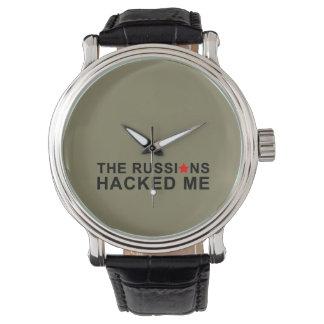 die Russen zerhackten mich Uhr