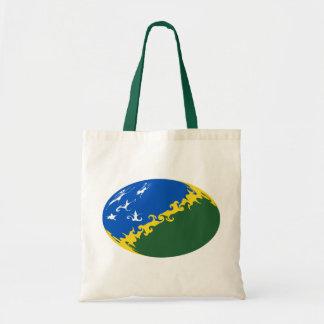 Die Salomonen-Gnarly Flaggen-Tasche