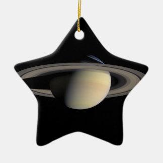 Die Saturn-Planet NASA Keramik Stern-Ornament