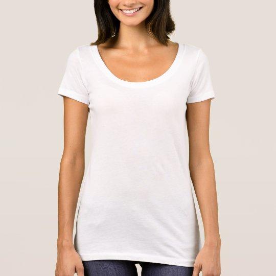 Frauen Next Level Scoop-Ausschnitt T-Shirt